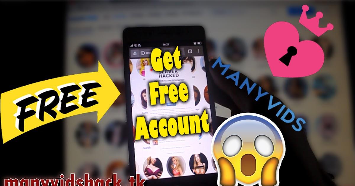 Manyvids Hack Premium Account: Manyvids Hack   manyvids