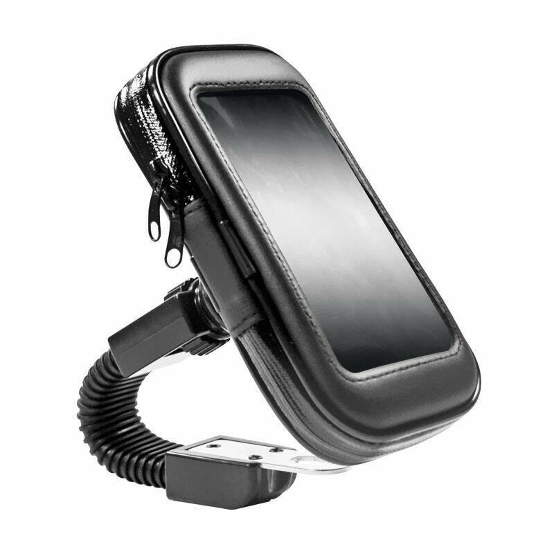 FLECO Holder Spion Sepeda Motor Waterproof Bracket HP GPS