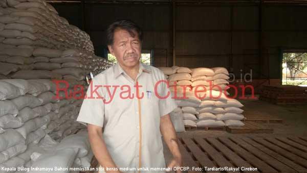 stok beras di indramayu makin menurun