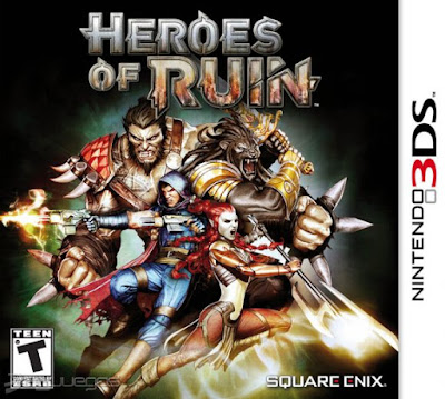 Heroes of Ruin Decrypted 3DS EUR