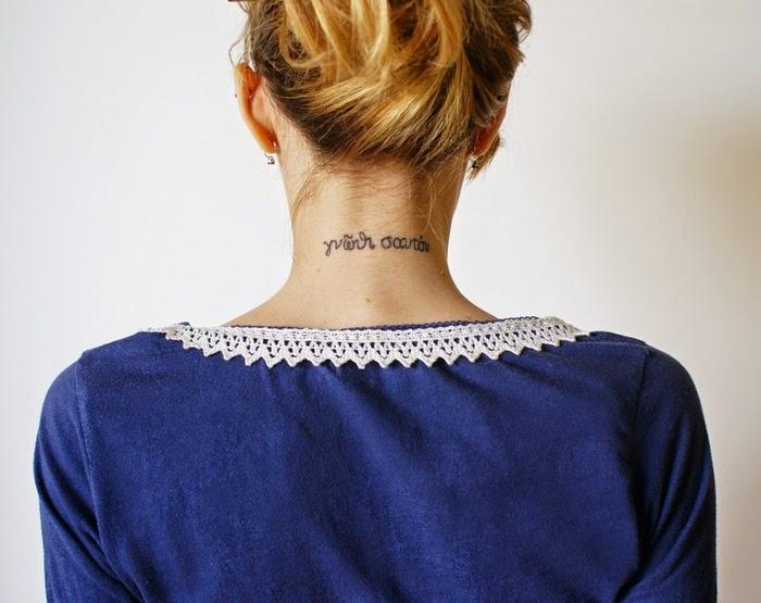 lace collar diy tattoo pizzo