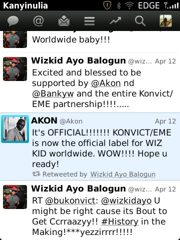 Akon Signs Wizkid Into Konvict Records In Partnership With EME Records! 2