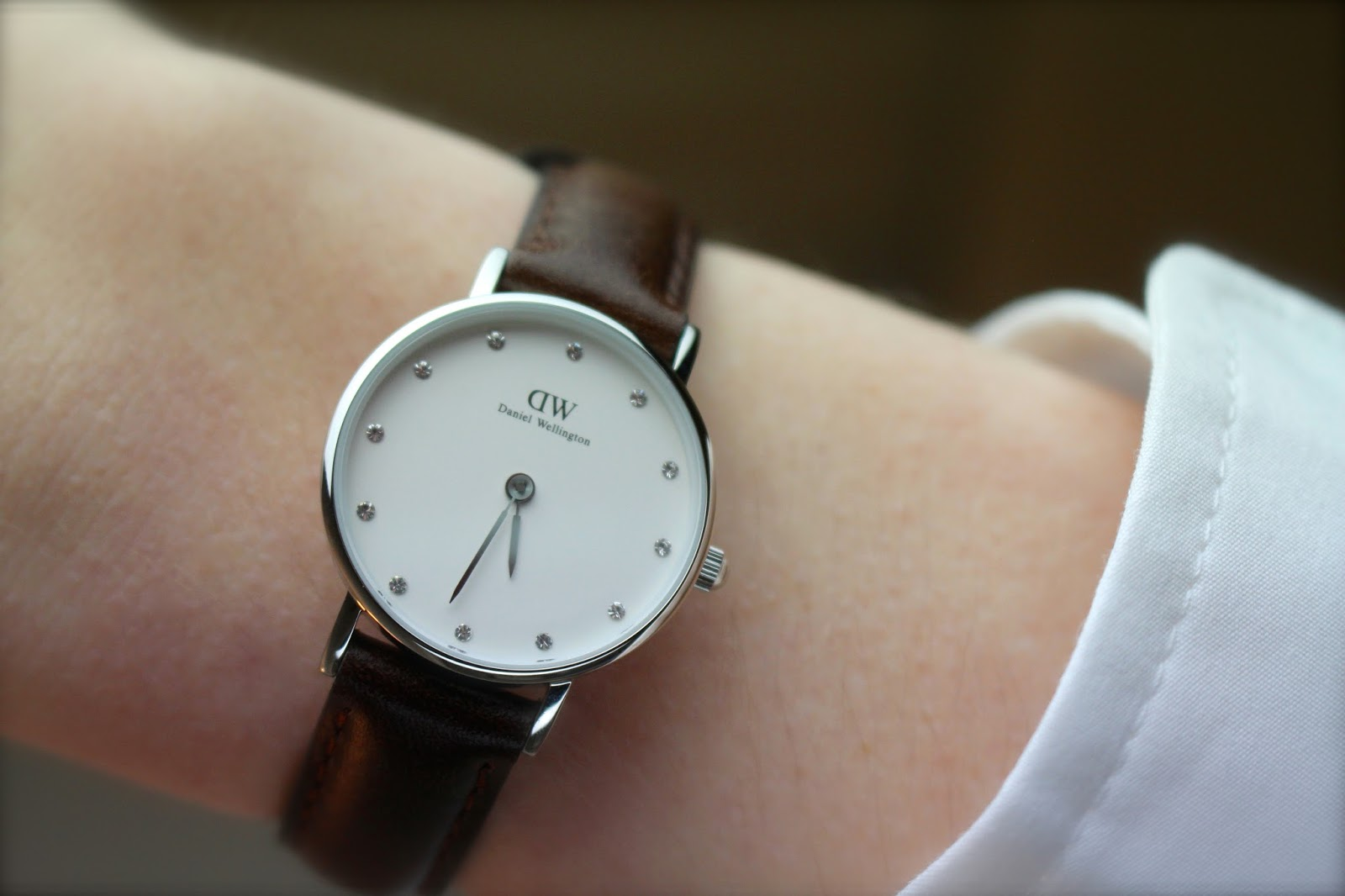 Daniel Wellington close up photography
