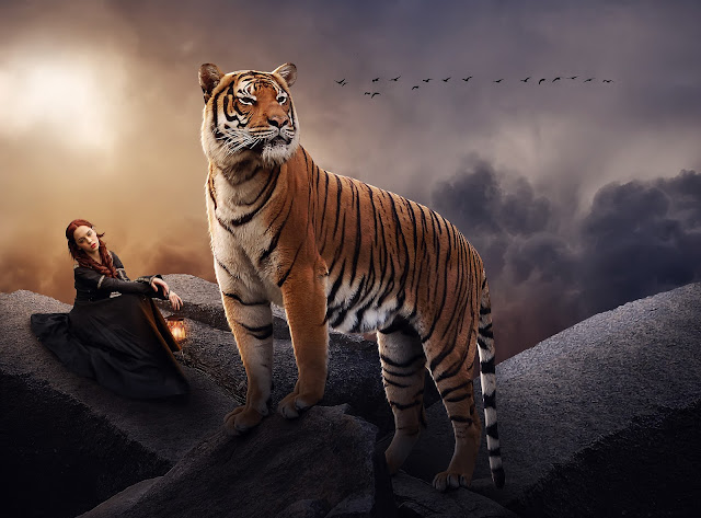 Big Tiger - Photo Manipulation Tutorial