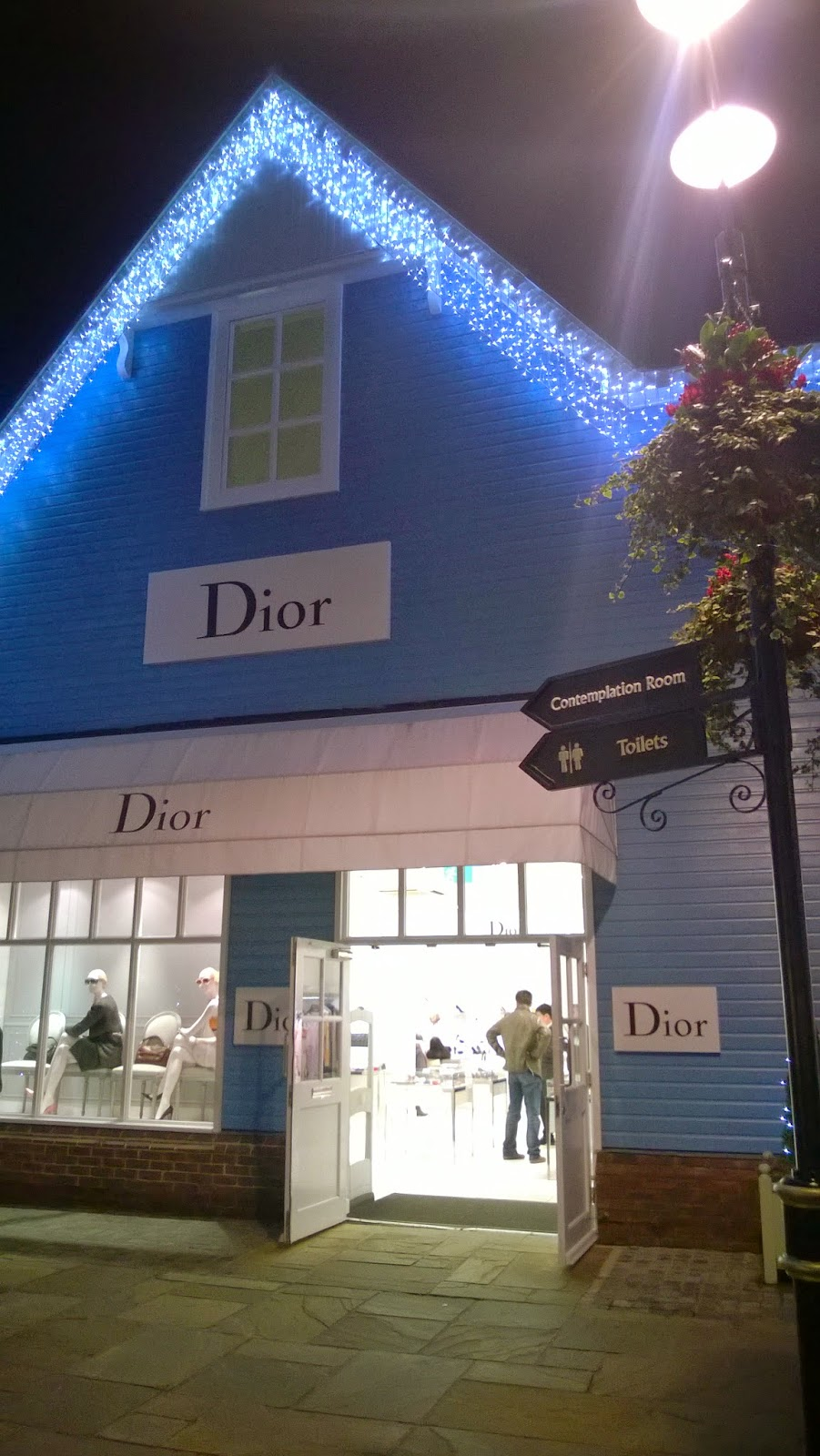 Dior Bicester Village Priceless Life of Mine