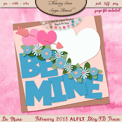 Be Mine: February 2018 ALFLT Blog/FB Train Freebie