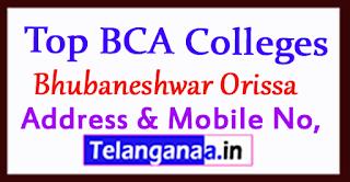 Top BCA Colleges in Bhubaneshwar Orissa