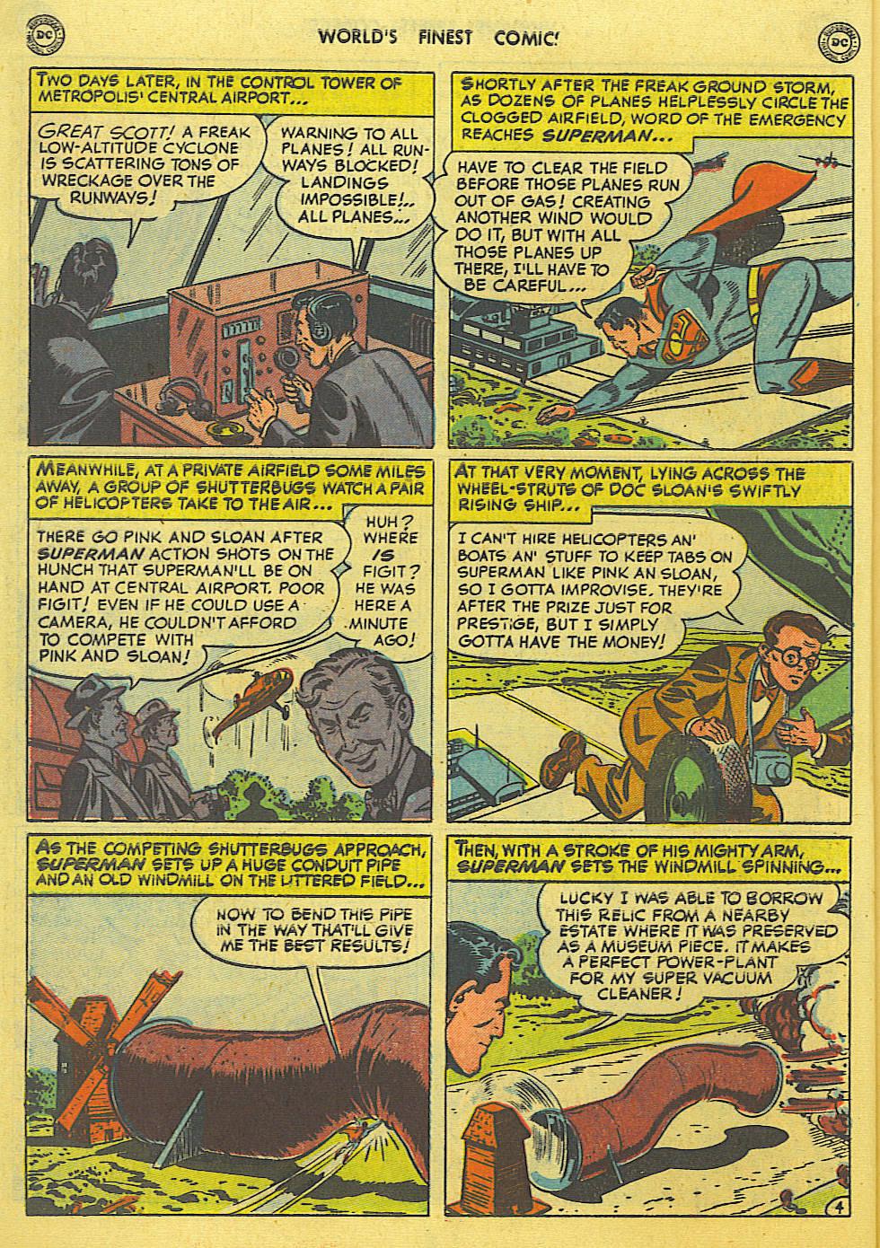 Read online World's Finest Comics comic -  Issue #49 - 6