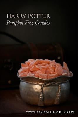 Pumpkin Fizz Candies - 13 Vegan Harry Potter Recipes RoundUp