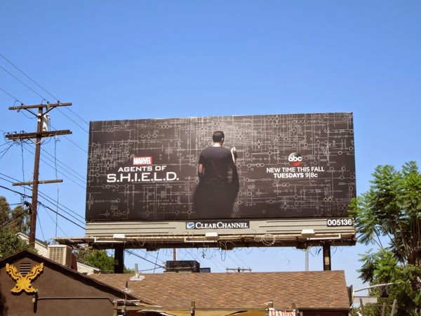Marvel's Agents of S.H.I.E.L.D. season 2 billboard