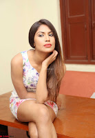 Nishi Gandha in Beautiful Sleeveless Deep neck Short Dress ~  Exclusive 012.jpg
