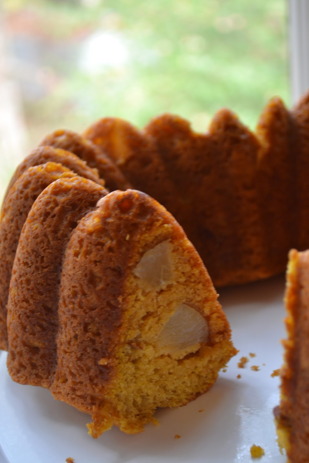 Pumpkin Bundt Cake With Walnut Bakers