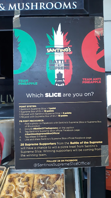 santinos battle of the supreme
