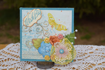 Shabby Chic, Butterfly birthday card for the fabulous Betty Ward