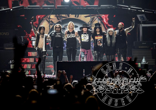 Guns N' Roses - Bridgestone Arena, Nashville, Tennessee 13/11/2017