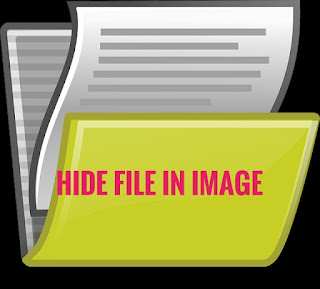 hide file in image