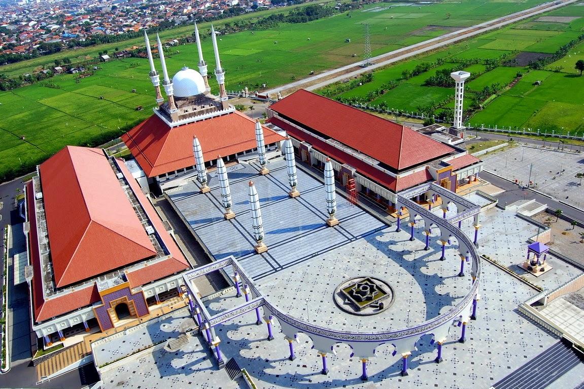 Masjid Agung Jawa Tengah (MAJT) - wisata semarang