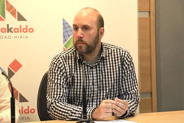 El concejal de Acción Social, Mikel Antízar (PNV)