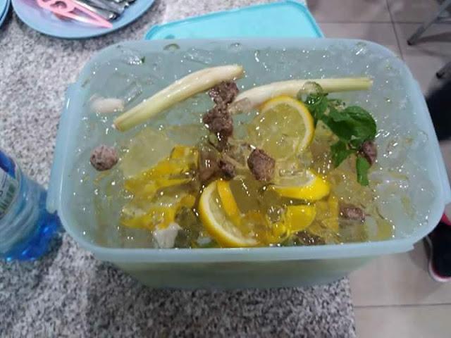 Cara Buat Air Soda Herbs Sedap