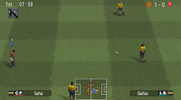 Winning Eleven 10 ISO PPSSPP for Android Test Work - Akozo