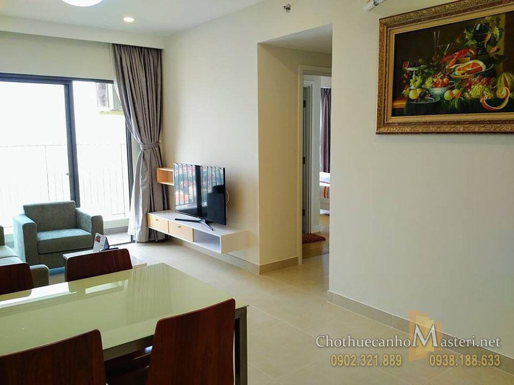 Cho thuê Masteri Thảo Điền T1 block A tầng 27 căn hộ 2PN view đẹp