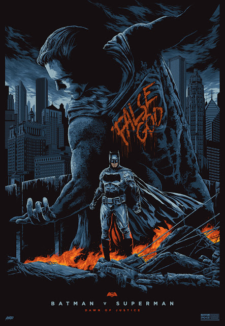 Batman v Superman: Dawn of Justice AP Standard Edition Screen Print by Ken Taylor