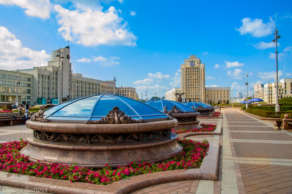 Площадь Независимости Минск фото