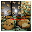 Almond & Choco chip cookies | de Fisa's Food Stage