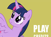 Twilight Sparkle: Tiny Horse