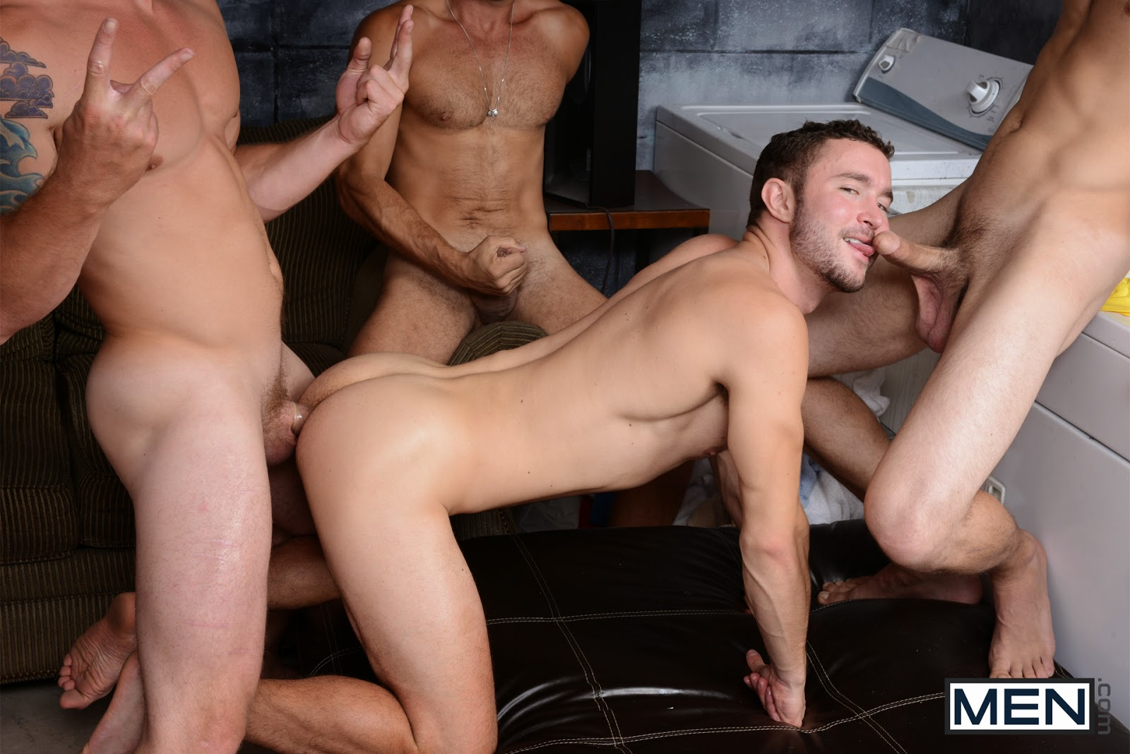 Mencom colt rivers and jack king sneaky assistant drill my hole