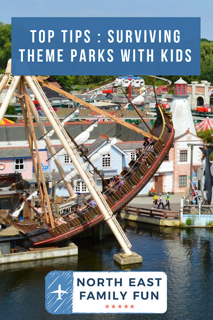 Top Tips : Surviving Theme Parks with Kids