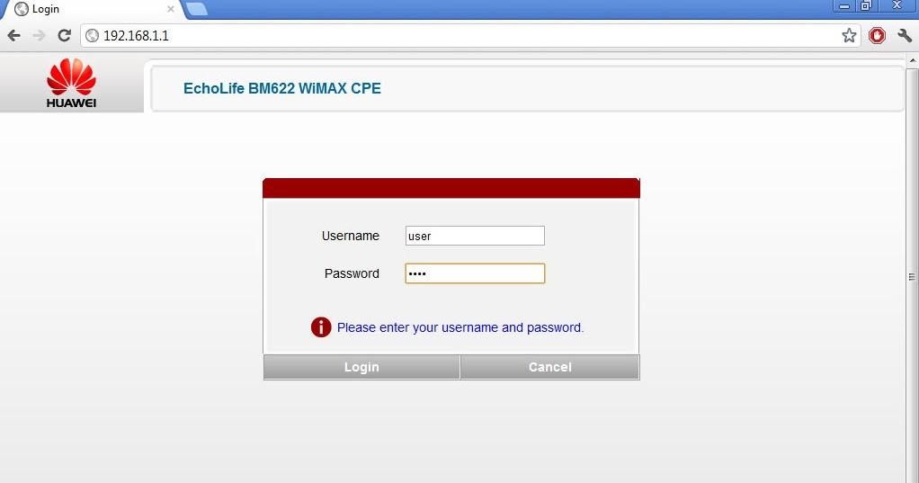 Globe huawei b593 admin password