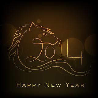 HappyNewYear2014Horse
