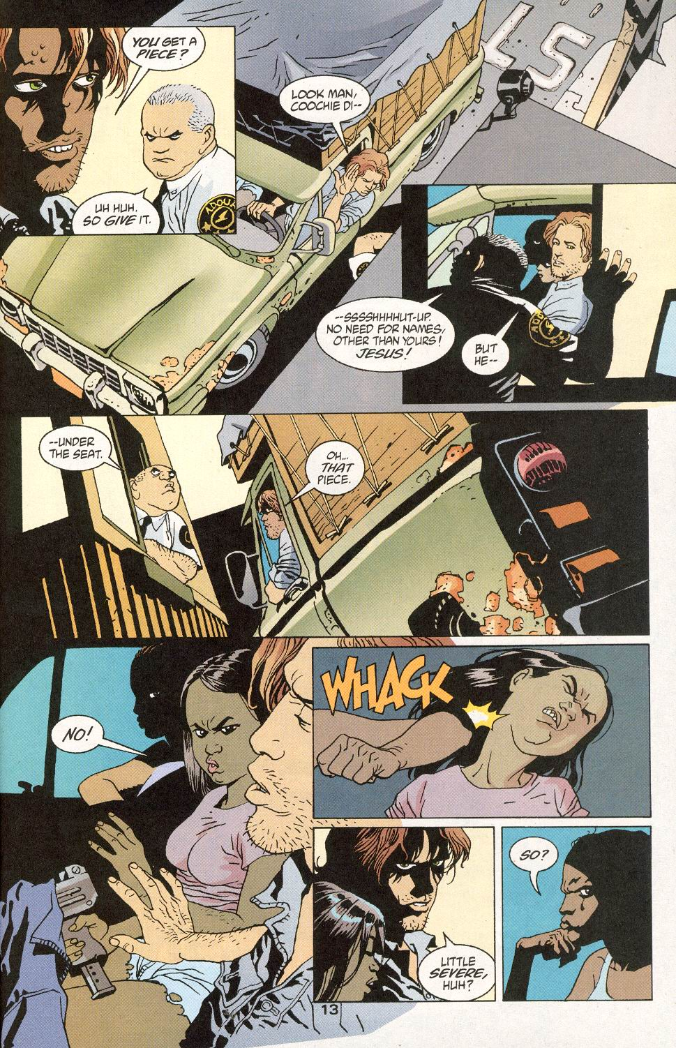 Read online 100 Bullets comic -  Issue #30 - 15