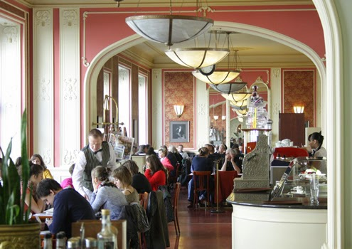 Café Louvre, Prague | Happy in Red