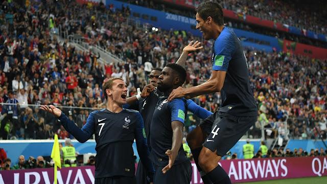 乌姆蒂蒂头锤致胜 法国1-0比利时率先晋级决赛
