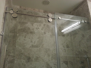 Inline Shower Enclosure by Giovani  Glass Brooklyn