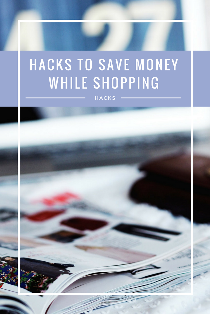 Money | Hacks to Save Money Shopping Pinterest Image
