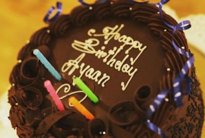 allu-ayaan-birthday-cake