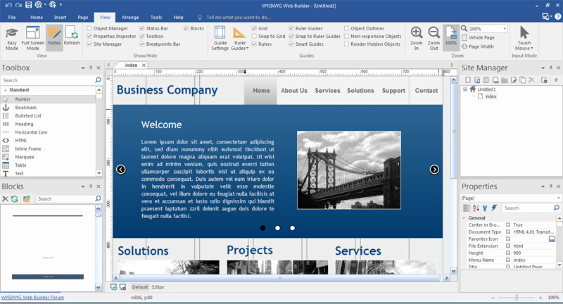 Конструктор сайтов wysiwyg web builder скачать бесплатно