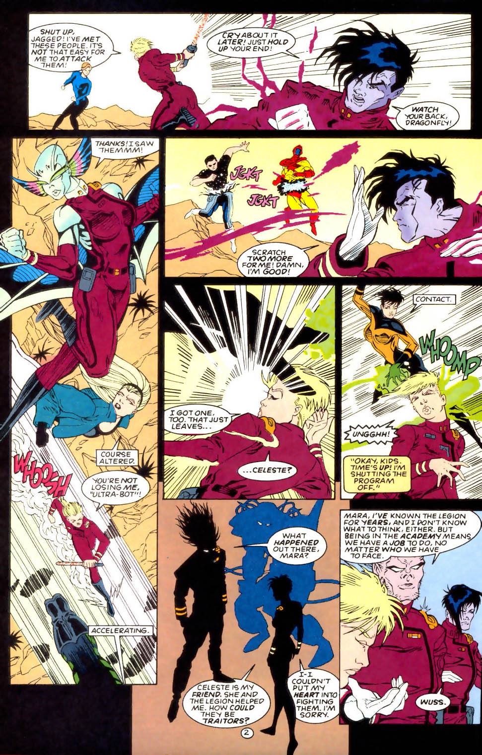 Legion of Super-Heroes (1989) 57 Page 2