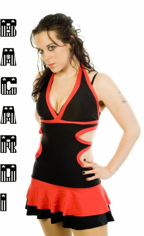 UK Female Professional Wrestler: Bacardi / Hailee Jefferson