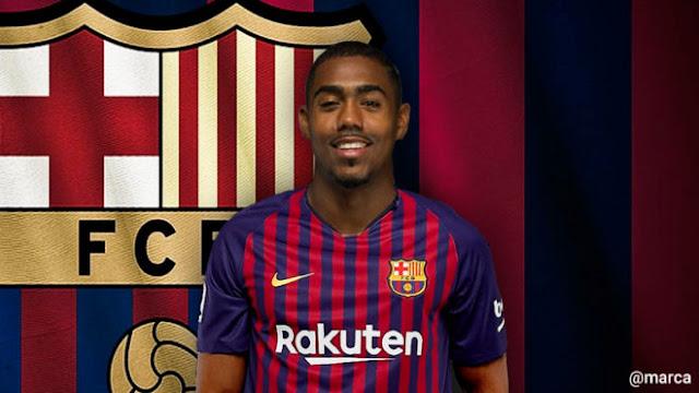 CHÍNH THỨC: Gây sốc, Barcelona chiêu mộ Malcom 1
