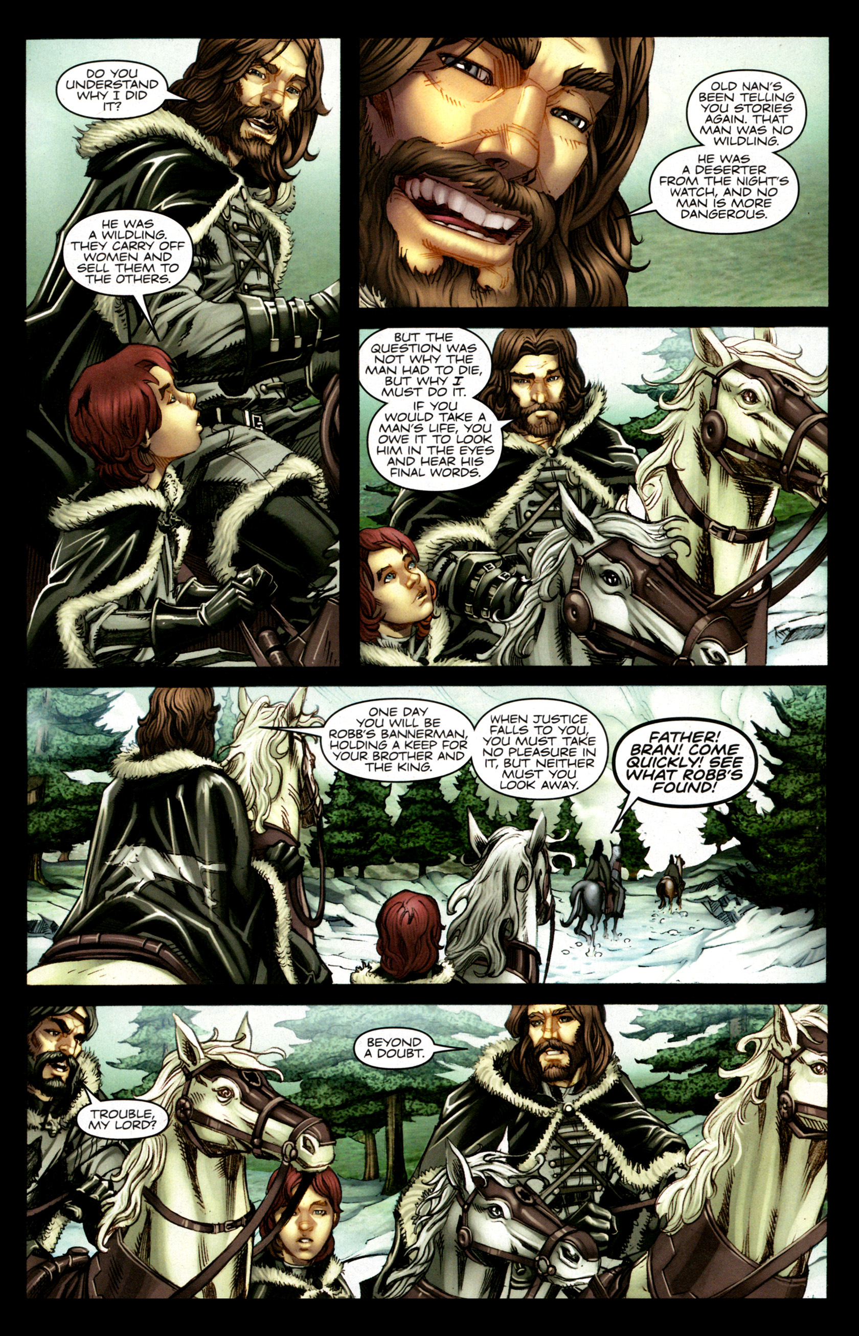 Read online A Game Of Thrones comic -  Issue #1 - 13