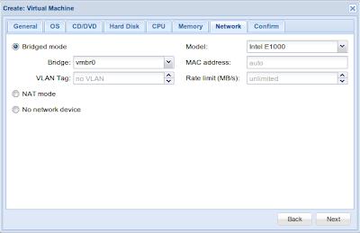 Jaringan untuk VPS KVM