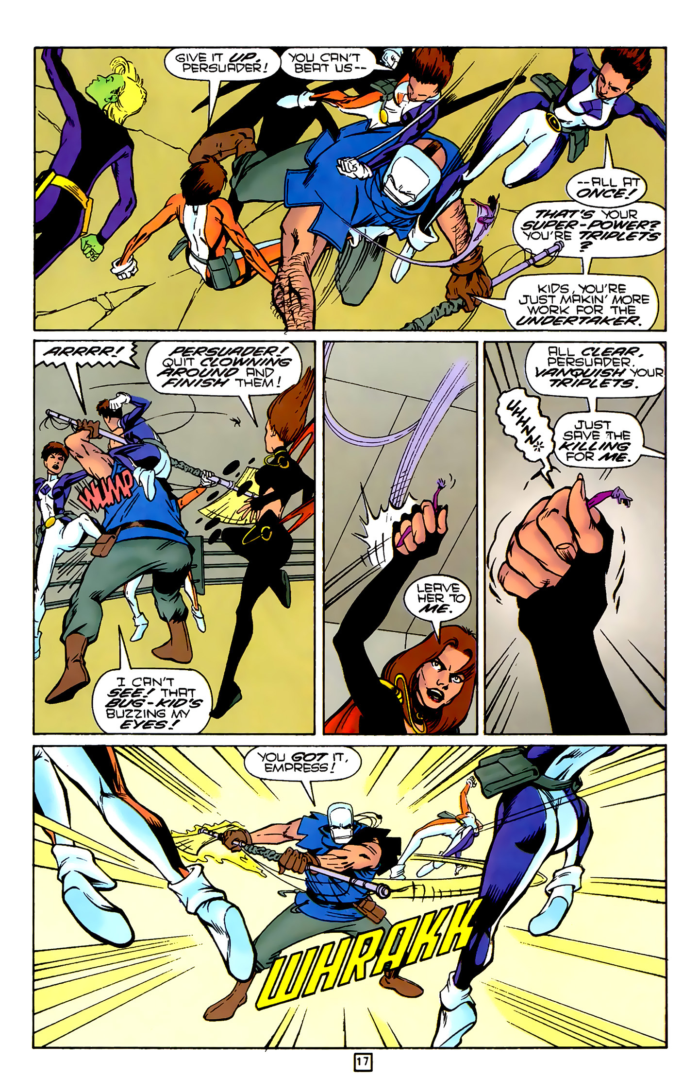 Legion of Super-Heroes (1989) 79 Page 16