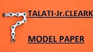Talati Model Paper 2 By Jarjis Kazi