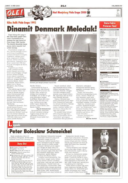 KILAS BALIK PIALA EROPA 1992 DINAMIT DENMARK MELEDAK