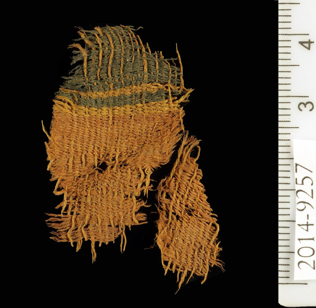 3,000 year old textiles are earliest evidence of chemical dyeing in the Levant