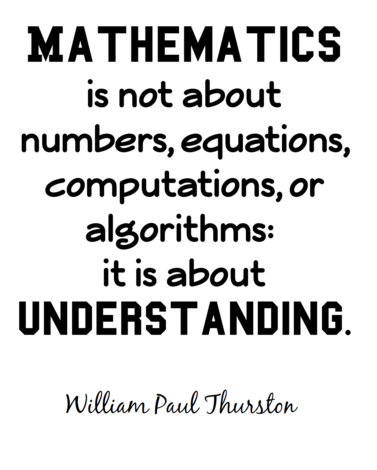 Math Love More Free Math And Non Math Quote Posters
